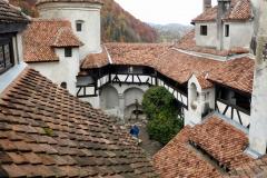 Vistas desde el Castillo de Bran