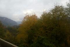 Carretera entre Curtea de Arges y Bran